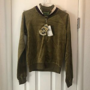 Juicy Couture Velour track jacket NWT